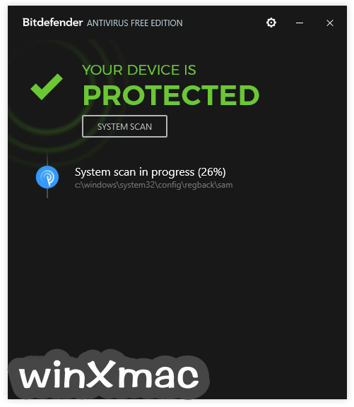 BitDefender Free Edition Screenshot 2