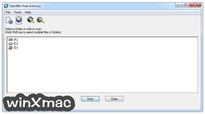 ClamWin Antivirus Screenshot 1