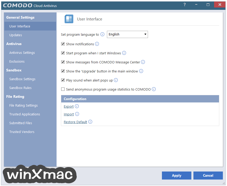 Comodo Cloud Antivirus Screenshot 5