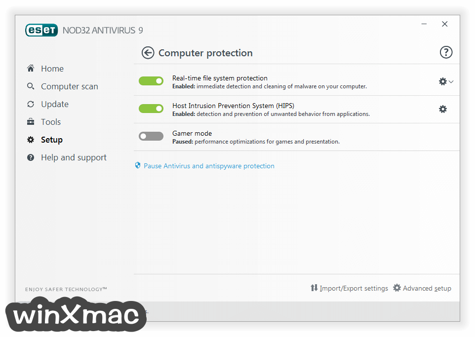 ESET NOD32 Antivirus (64-bit) Screenshot 4