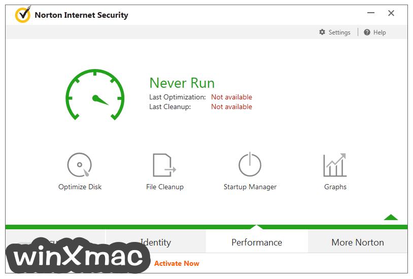 Norton Security Screenshot 4