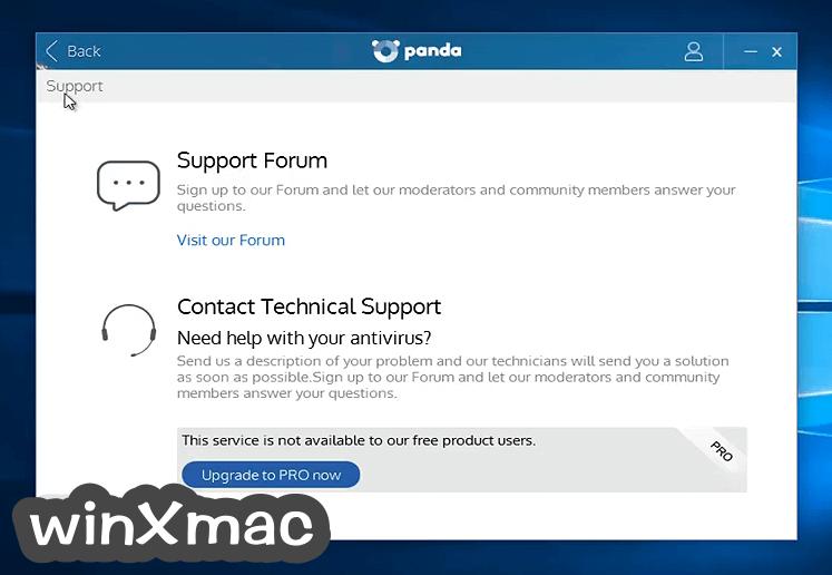 Panda Free AntiVirus Screenshot 5