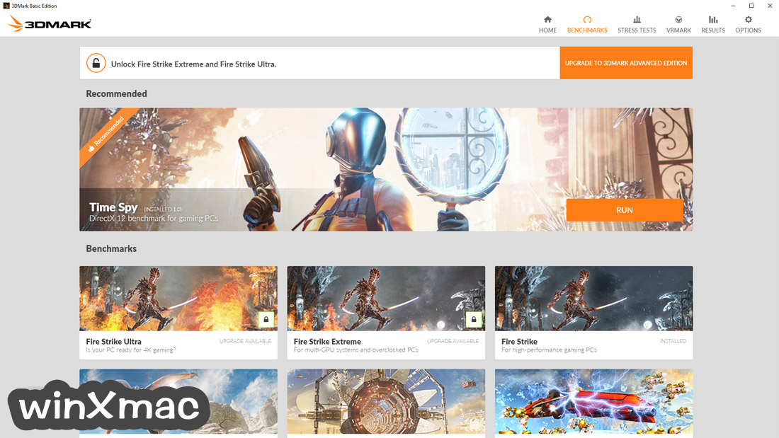 3DMark Basic Edition Screenshot 1