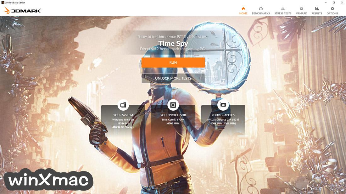 3DMark Basic Edition Screenshot 2