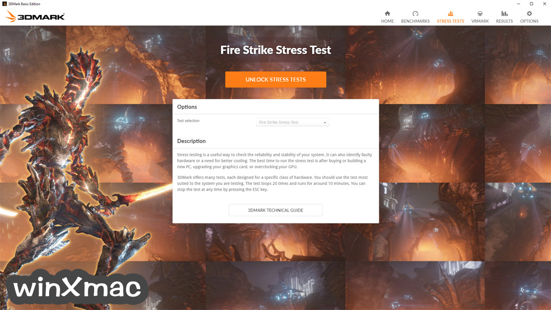 3DMark Basic Edition Screenshot 3