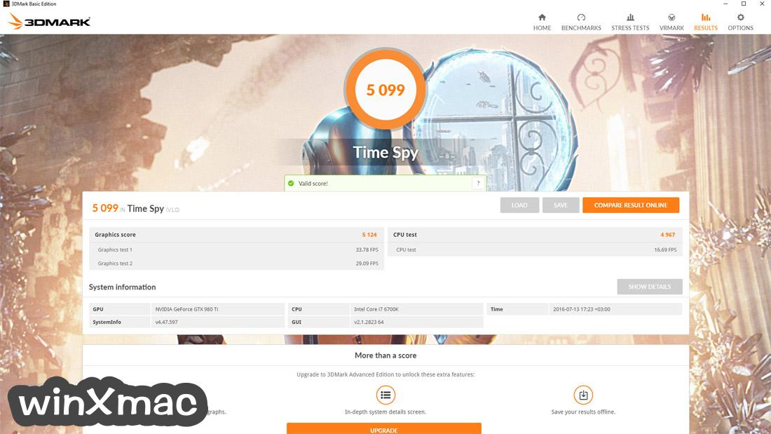 3DMark Basic Edition Screenshot 4