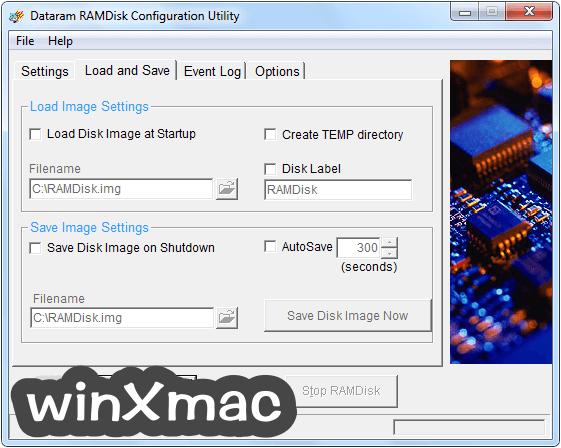 RAMDisk Screenshot 2