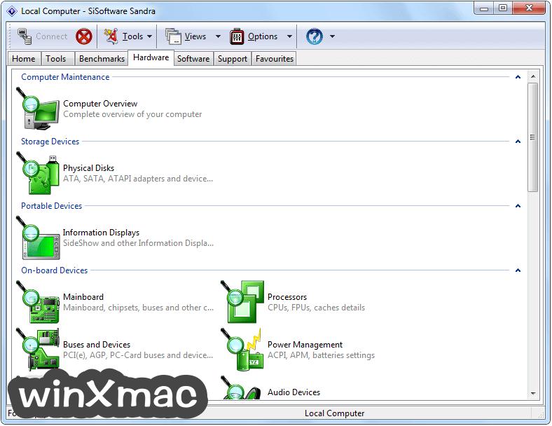 SiSoftware Sandra Lite Screenshot 1