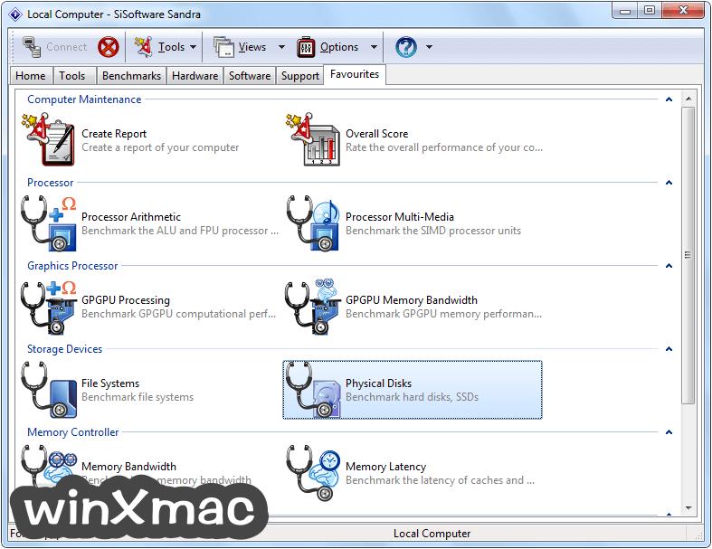 SiSoftware Sandra Lite Screenshot 4