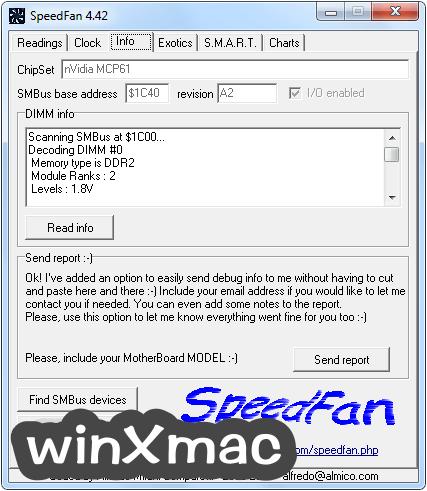 SpeedFan Screenshot 2