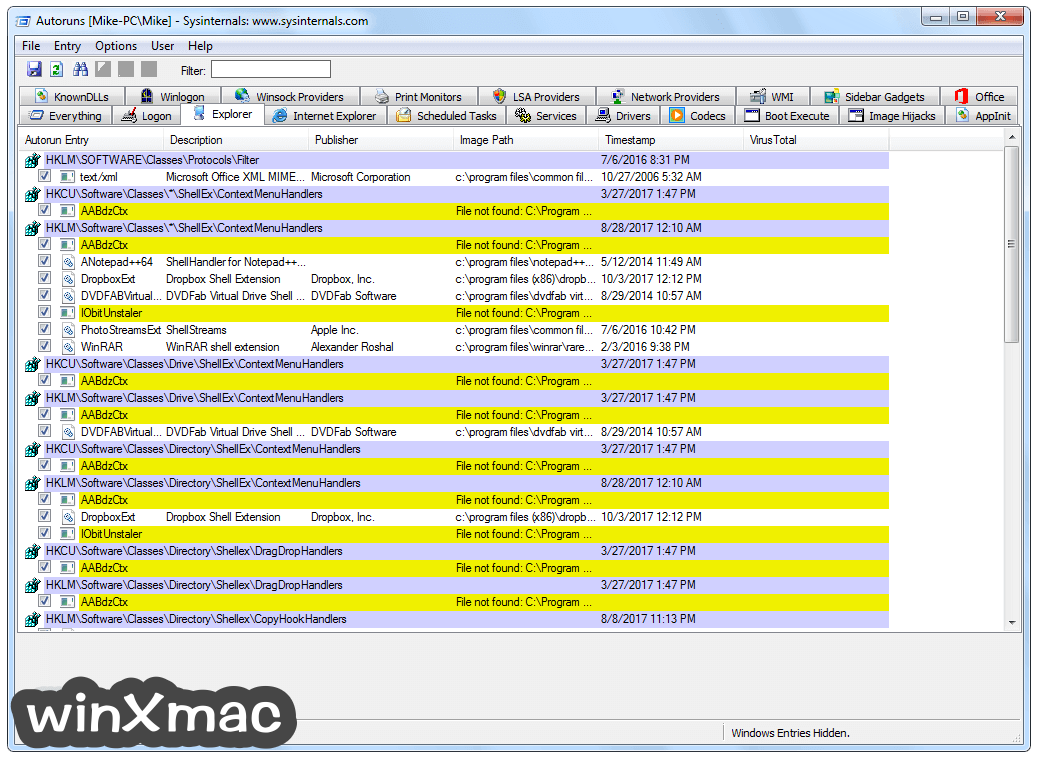 Sysinternals Suite Screenshot 2