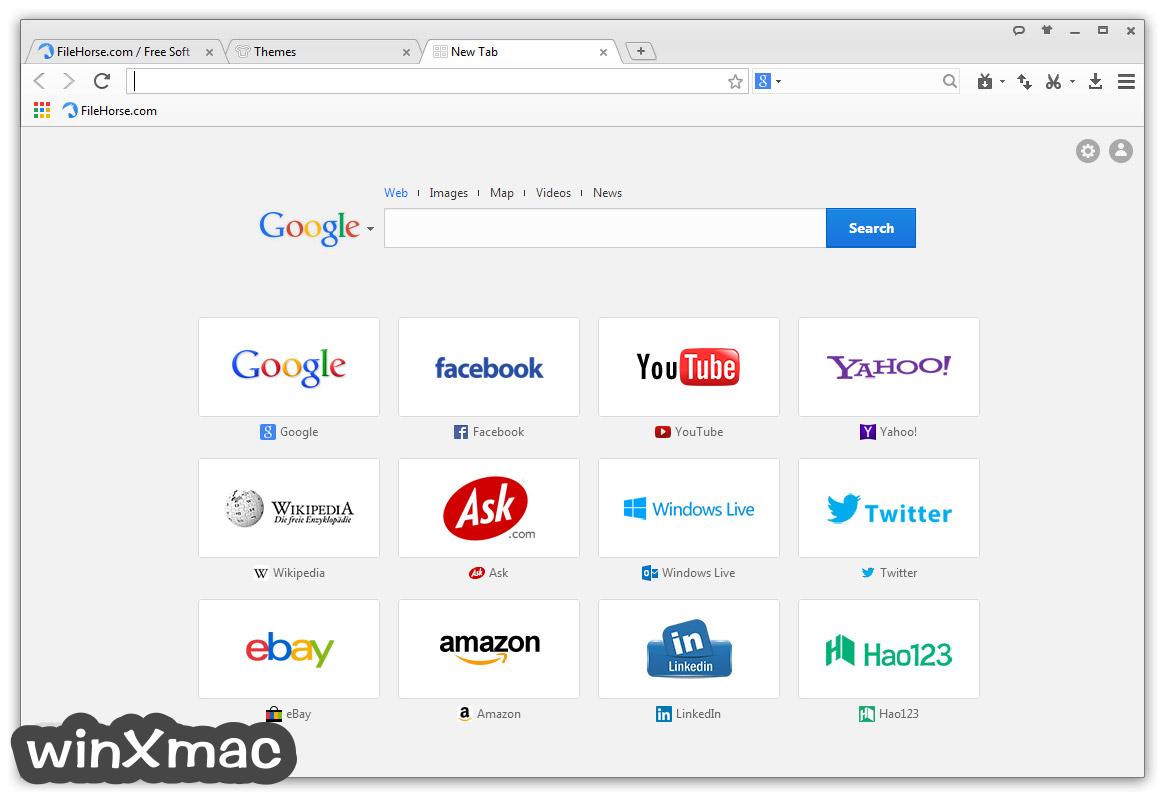 Baidu Browser Screenshot 1