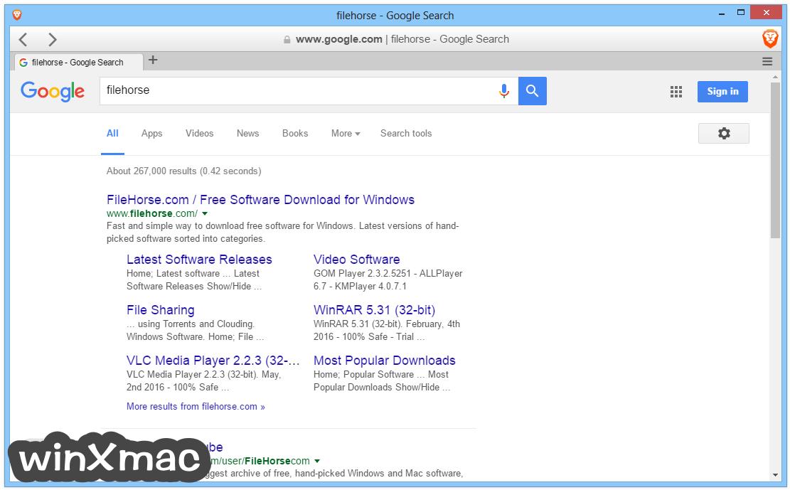 Brave Browser (64-bit) Screenshot 1