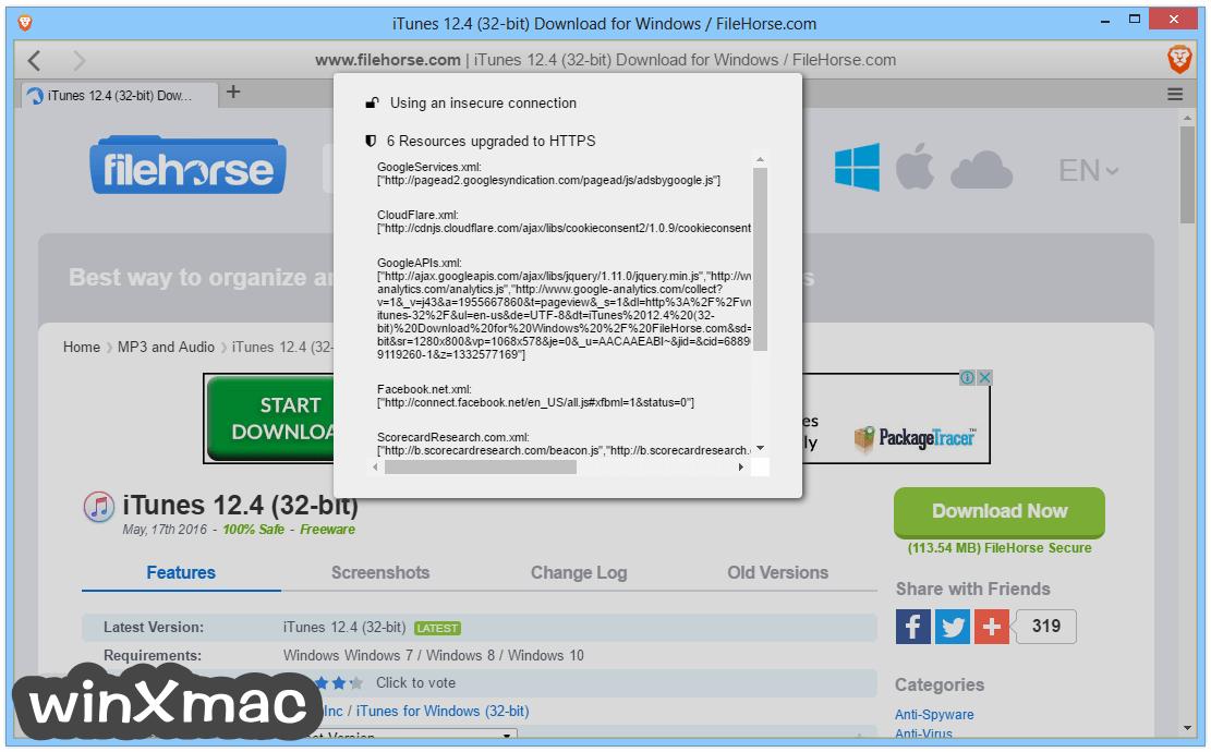 Brave Browser (64-bit) Screenshot 3