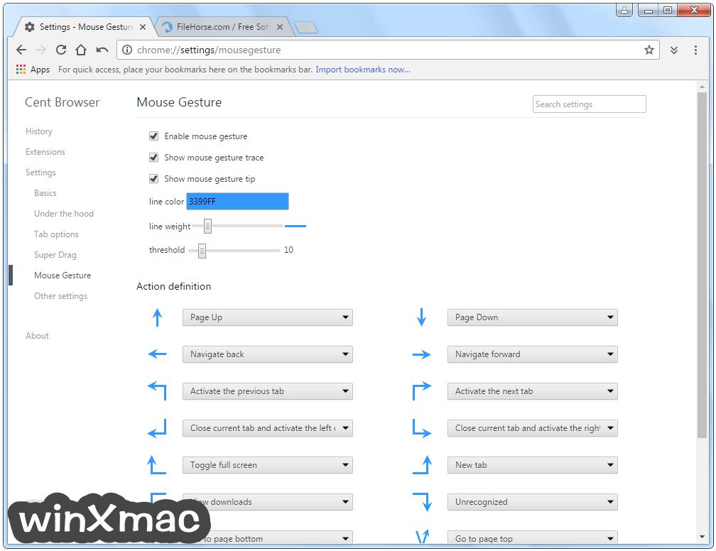 Cent Browser (64-bit) Screenshot 5