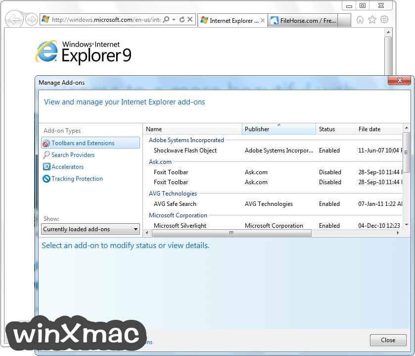 Internet Explorer (Windows7) Screenshot 4