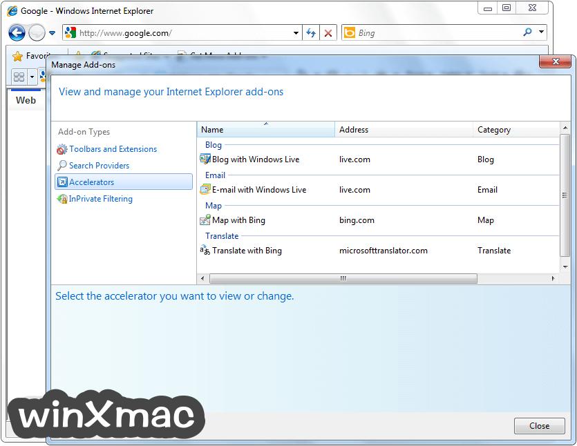 Internet Explorer (XP) Screenshot 3