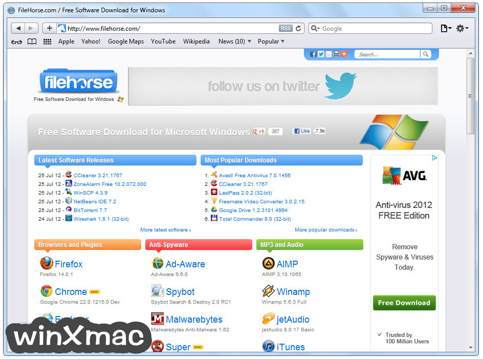 Safari for Windows Screenshot 1