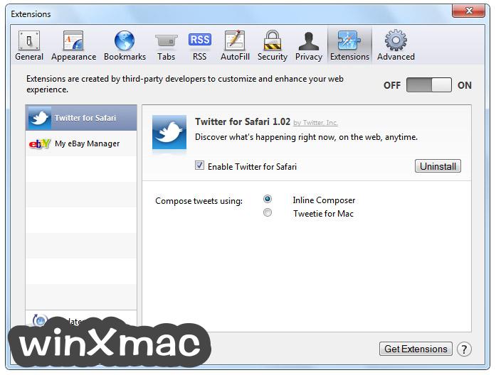Safari for Windows Screenshot 5