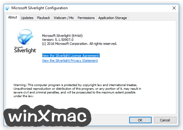 Silverlight (64-bit) Screenshot 1