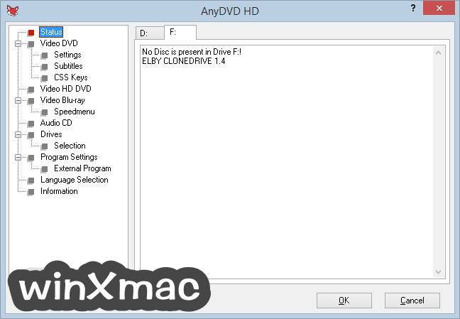 AnyDVD HD Screenshot 1
