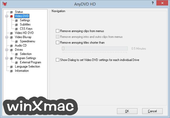 AnyDVD HD Screenshot 2