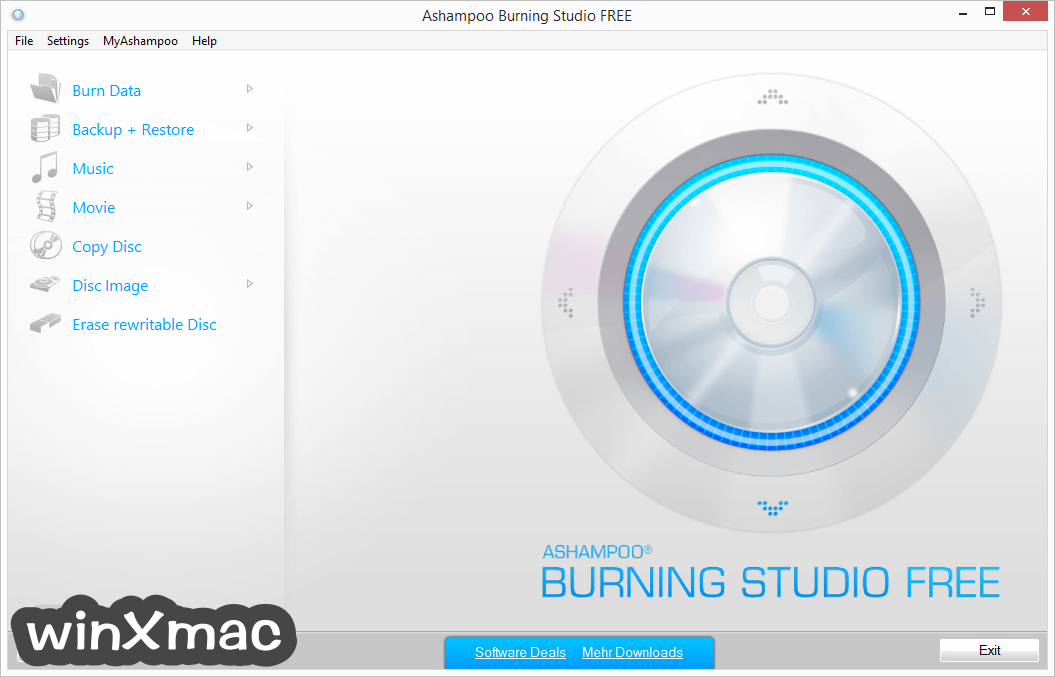 Ashampoo Burning Studio Free Screenshot 1