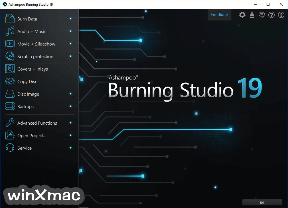 Ashampoo Burning Studio Screenshot 1