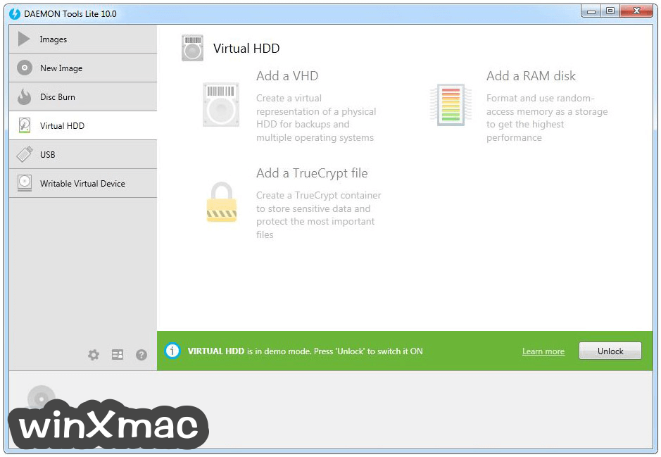 DAEMON Tools Lite Screenshot 4