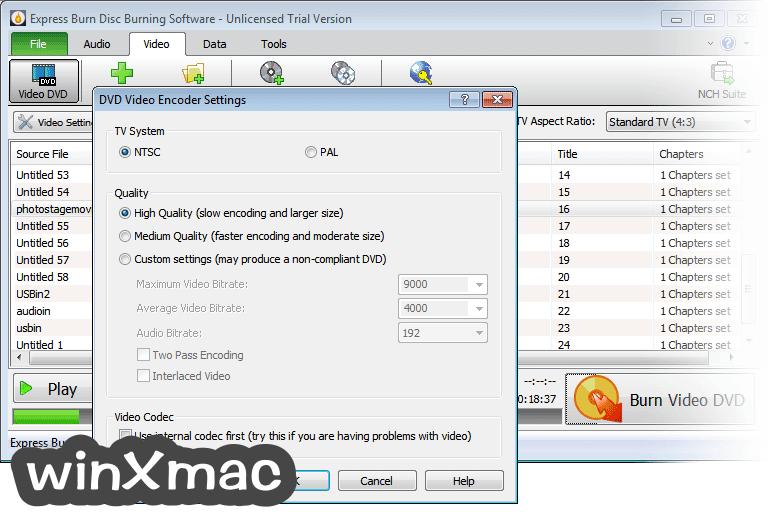 Express Burn Screenshot 3