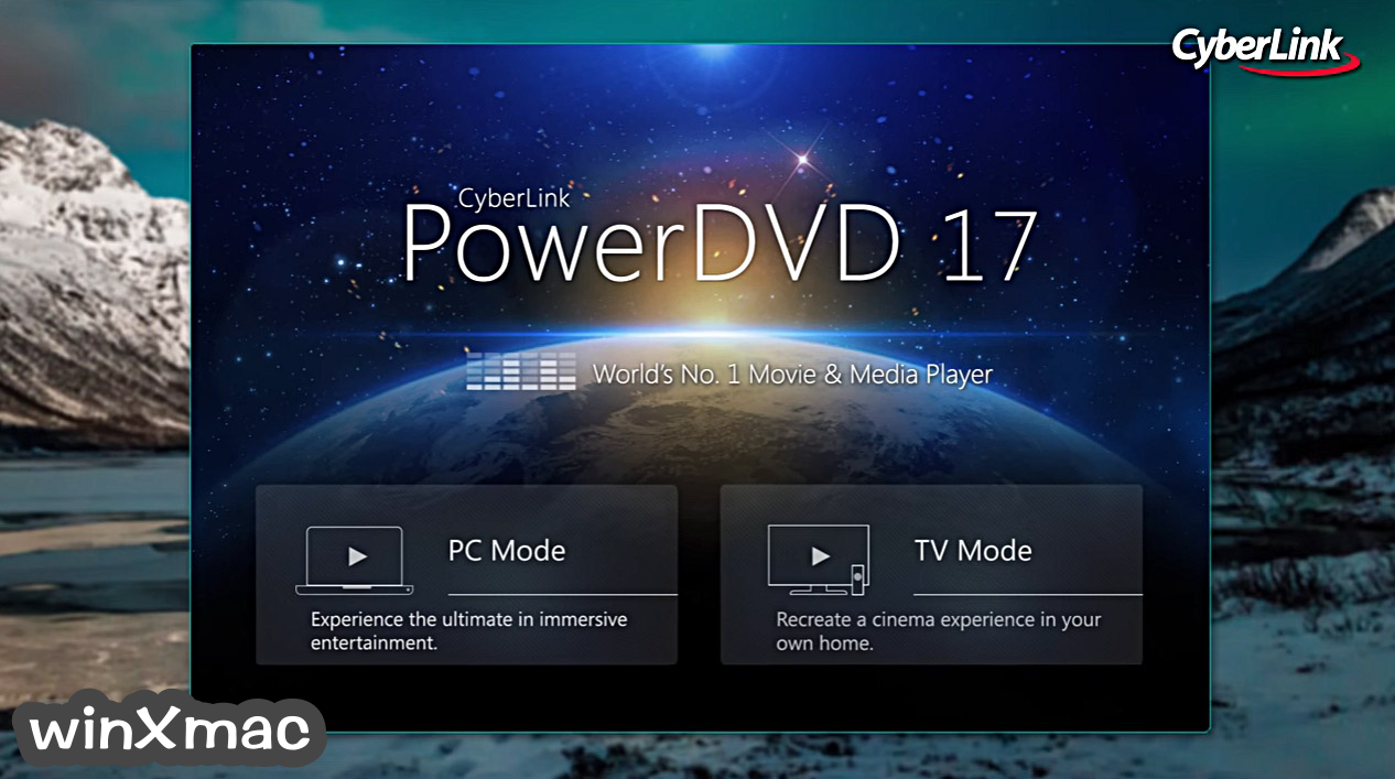 PowerDVD Screenshot 1