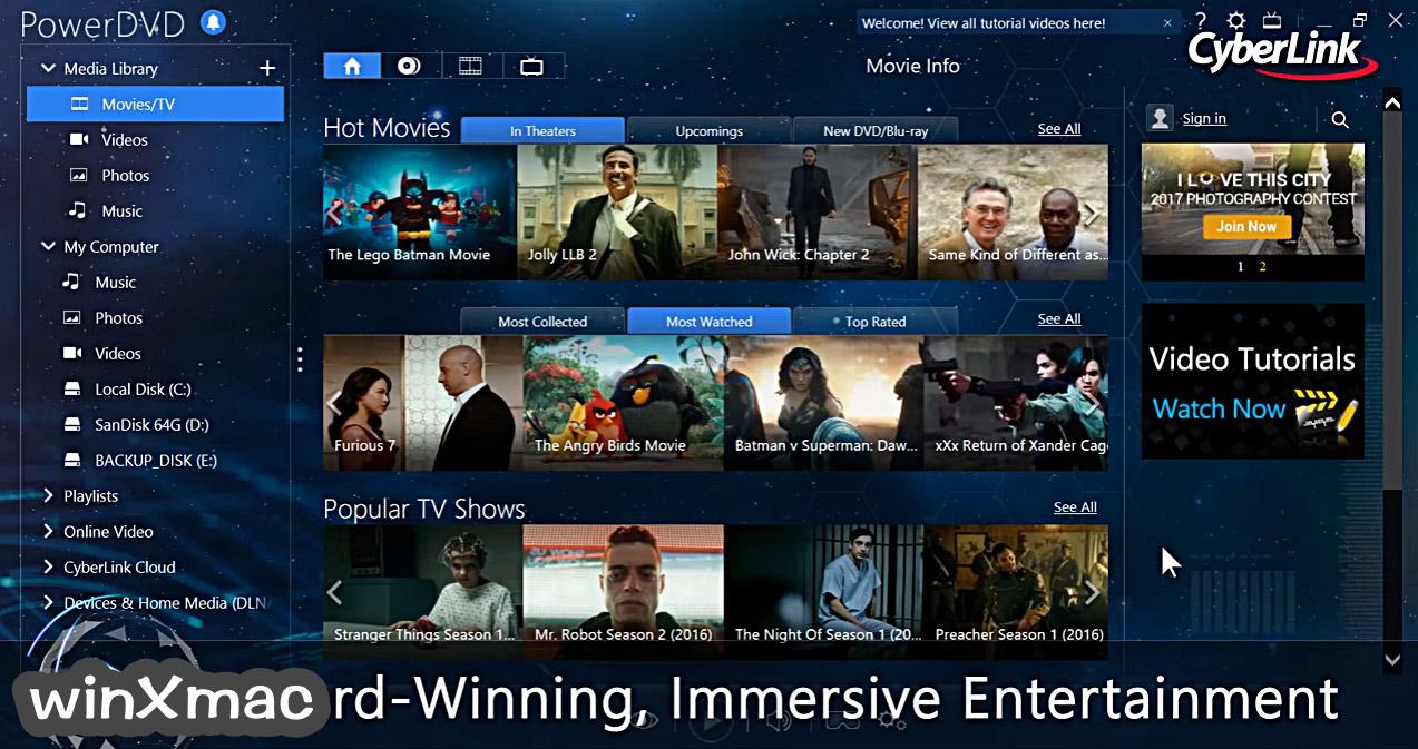 PowerDVD Screenshot 4