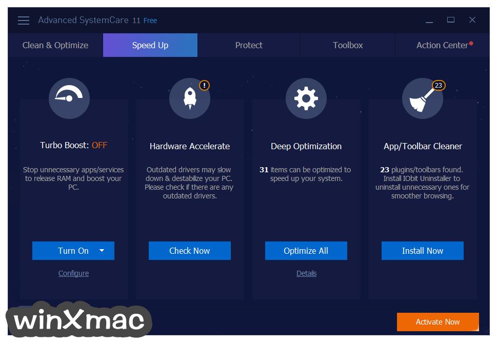 Advanced SystemCare Free Screenshot 2
