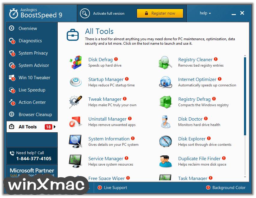 Auslogics BoostSpeed Screenshot 4