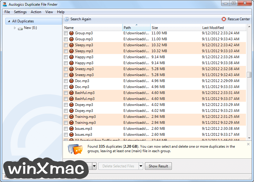 Auslogics Duplicate File Finder Screenshot 4