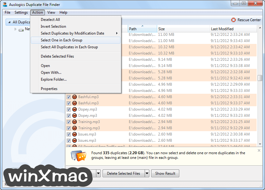 Auslogics Duplicate File Finder Screenshot 5
