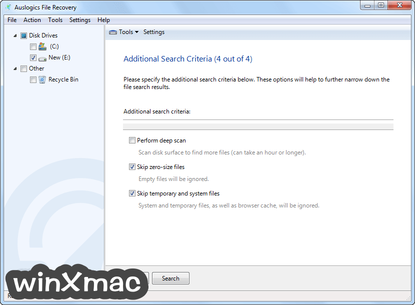 Auslogics File Recovery Screenshot 4