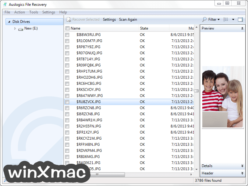 Auslogics File Recovery Screenshot 5
