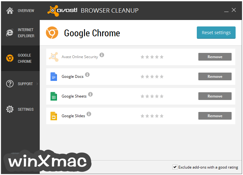 Avast Browser Cleanup Screenshot 2