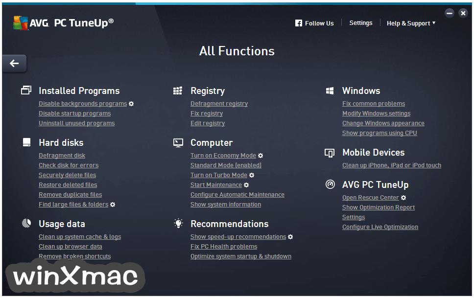 AVG PC TuneUp (32-bit) Screenshot 4