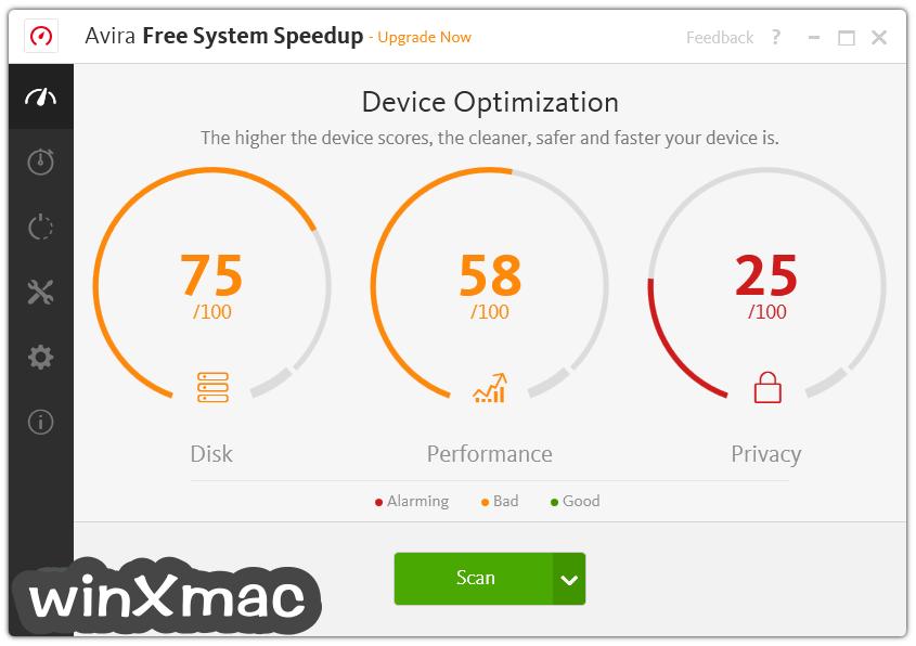 Avira System Speedup Screenshot 1