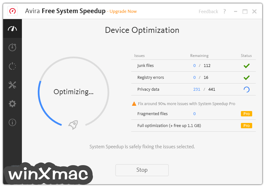 Avira System Speedup Screenshot 3