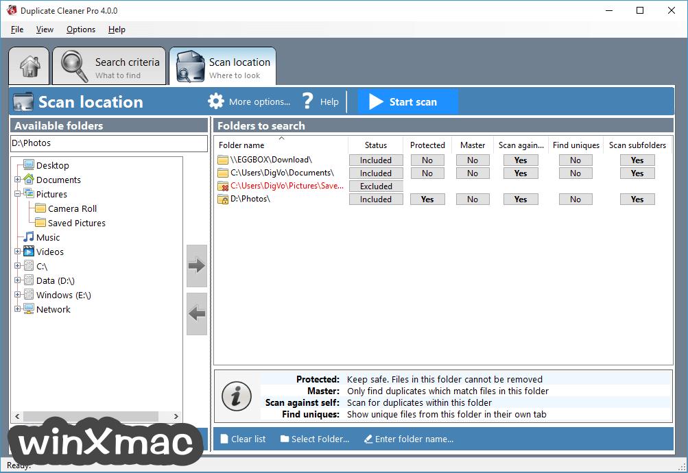 Duplicate Cleaner Screenshot 2