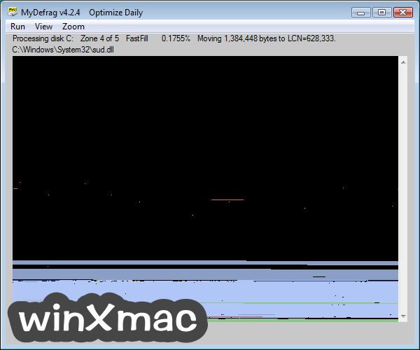 MyDefrag Screenshot 2