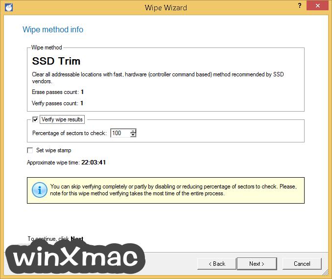 Paragon Disk Wiper (64-bit) Screenshot 4