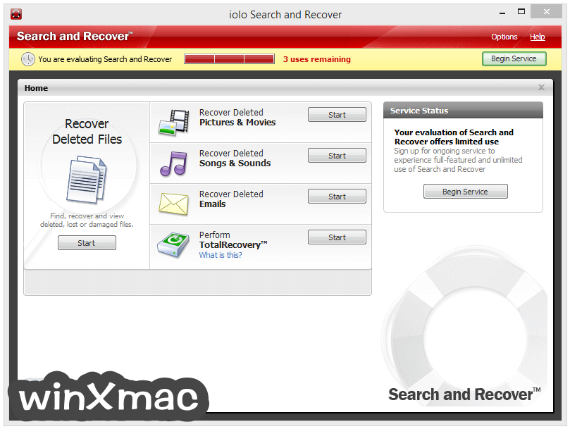 Search and Recover Screenshot 1