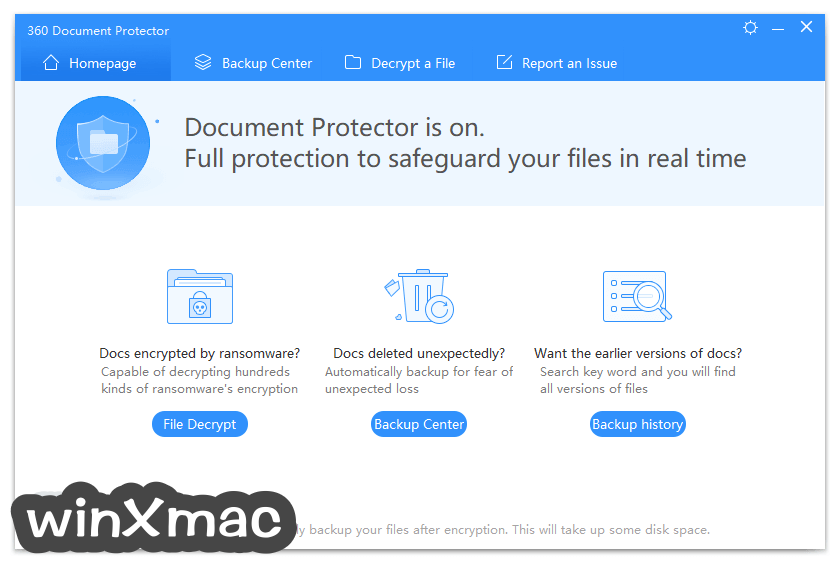360 Document Protector Screenshot 1
