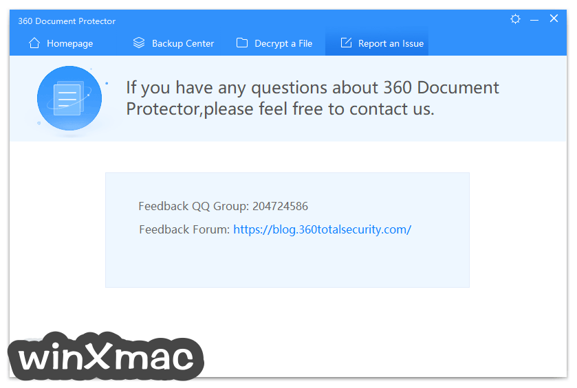 360 Document Protector Screenshot 4