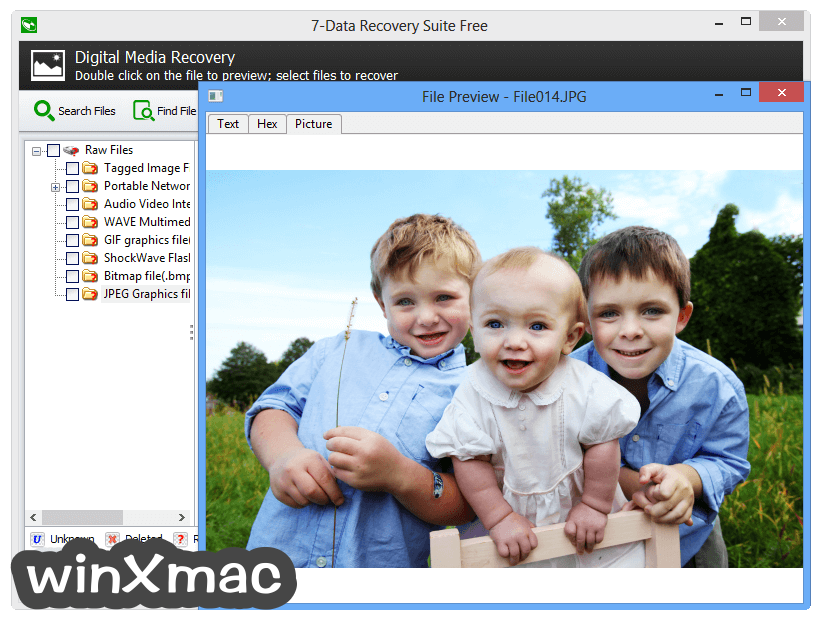7-Data Recovery Suite Screenshot 3
