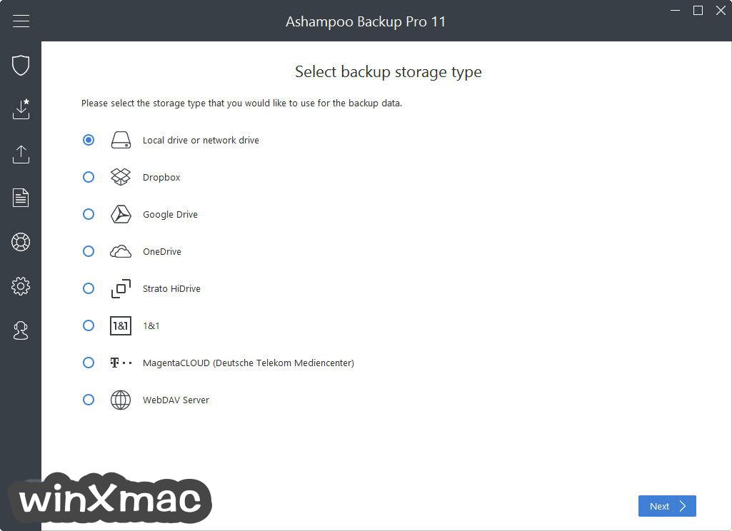 Ashampoo Backup Pro Screenshot 2